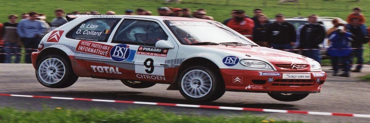 Olivier Collard Rallye de Wallonie 2003