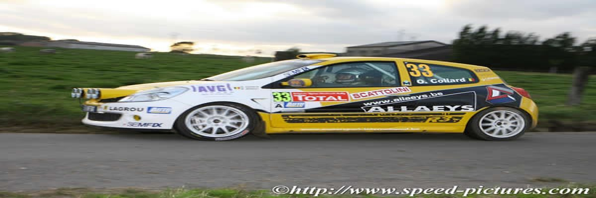 Olivier Collard Ypres Rally 2007