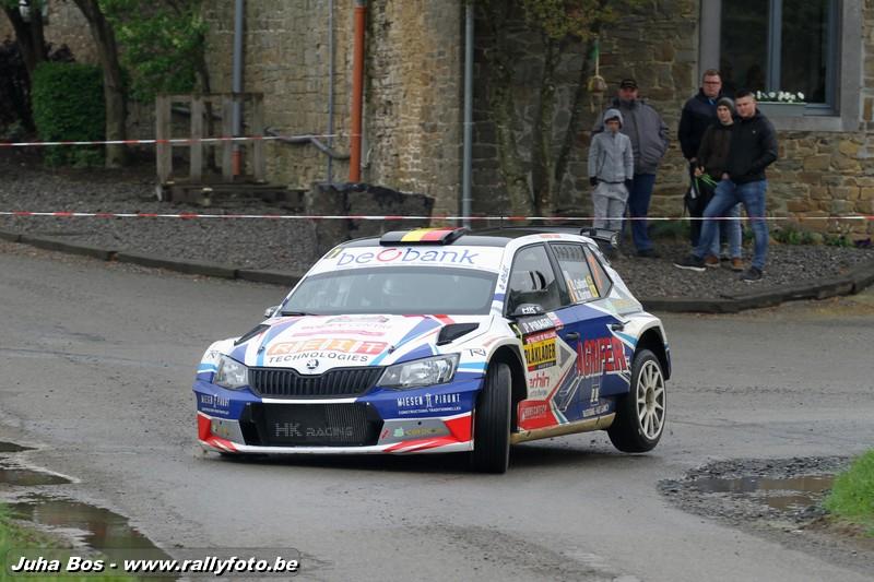 Olivier Collard - Rallye de Wallonie 2018