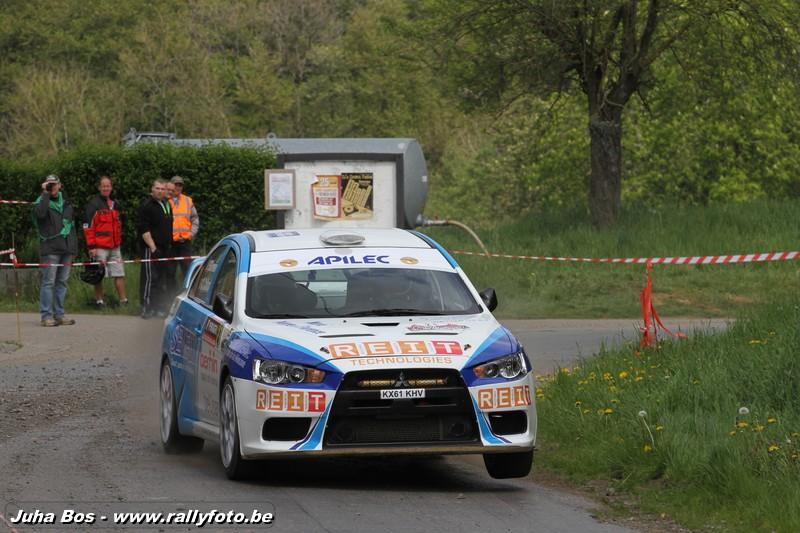 Olivier Collard Rallye de Wallonie 2014